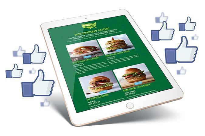 How America burgers on social