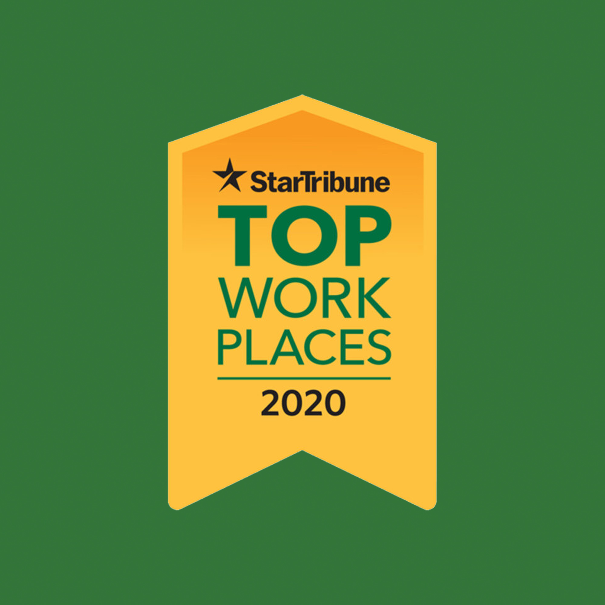 Star Tribute Top Work Places 2020