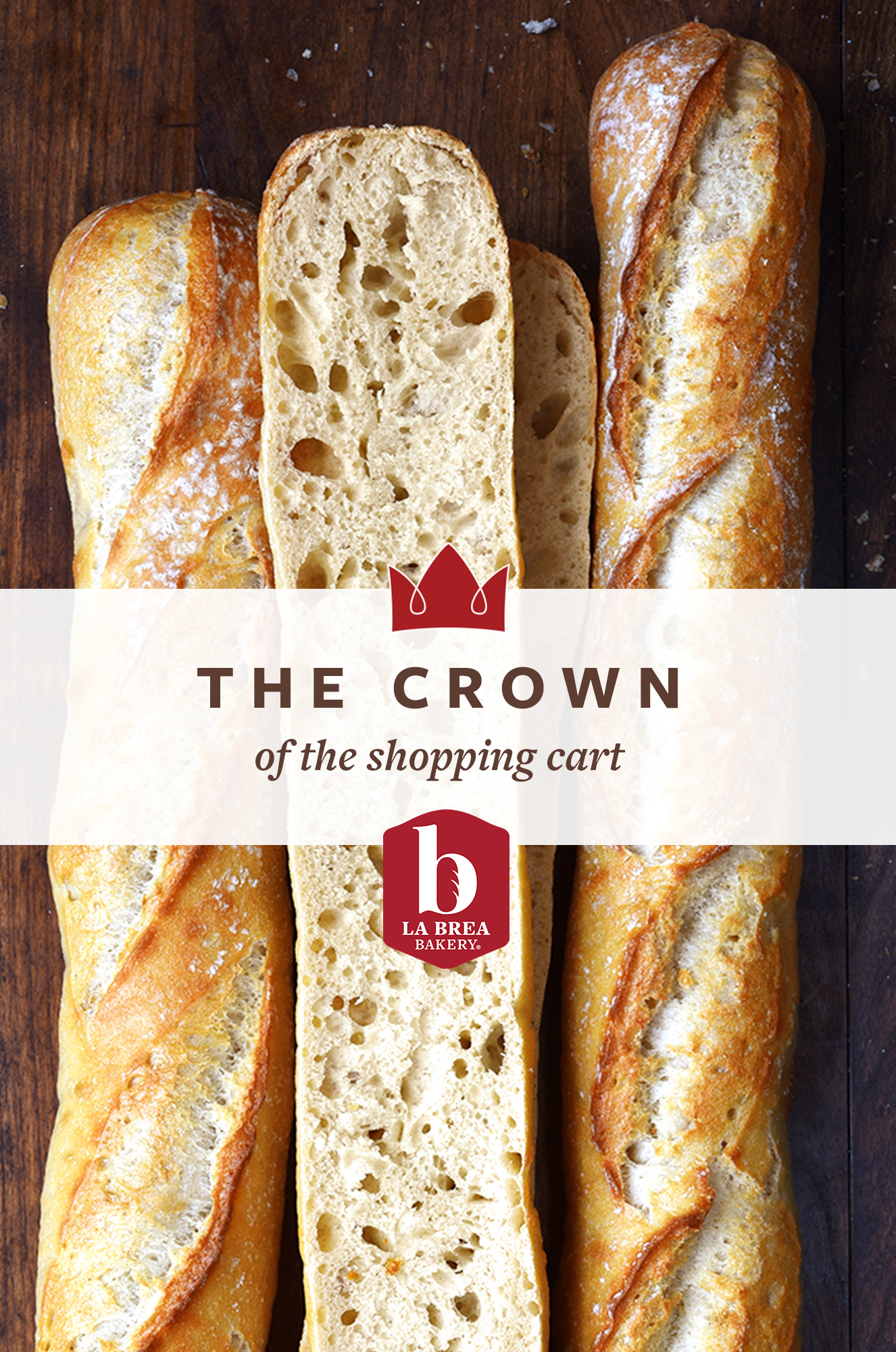 La Brea The Crown of the Shopping Cart baguettes