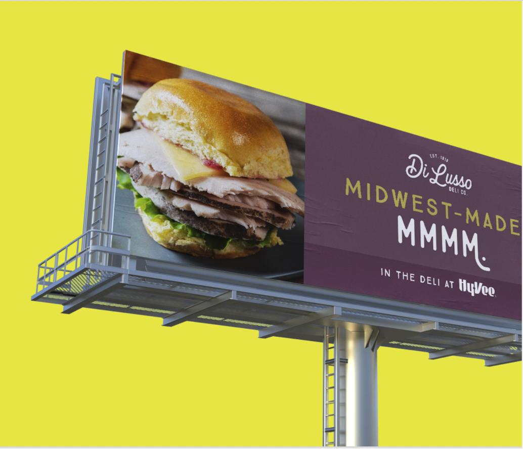 Di Lusso billboard