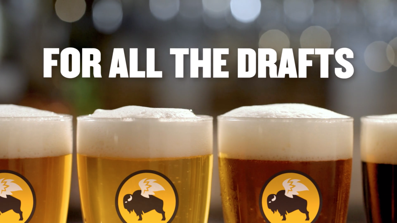 For All the Drafts, Buffalo Wild Wings beer