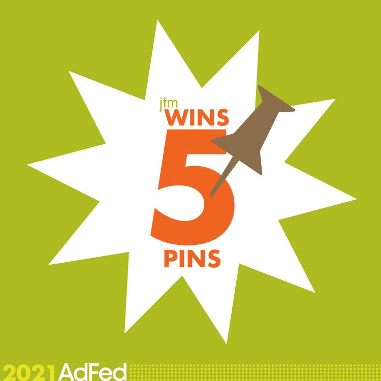 JTM wins 5 pins