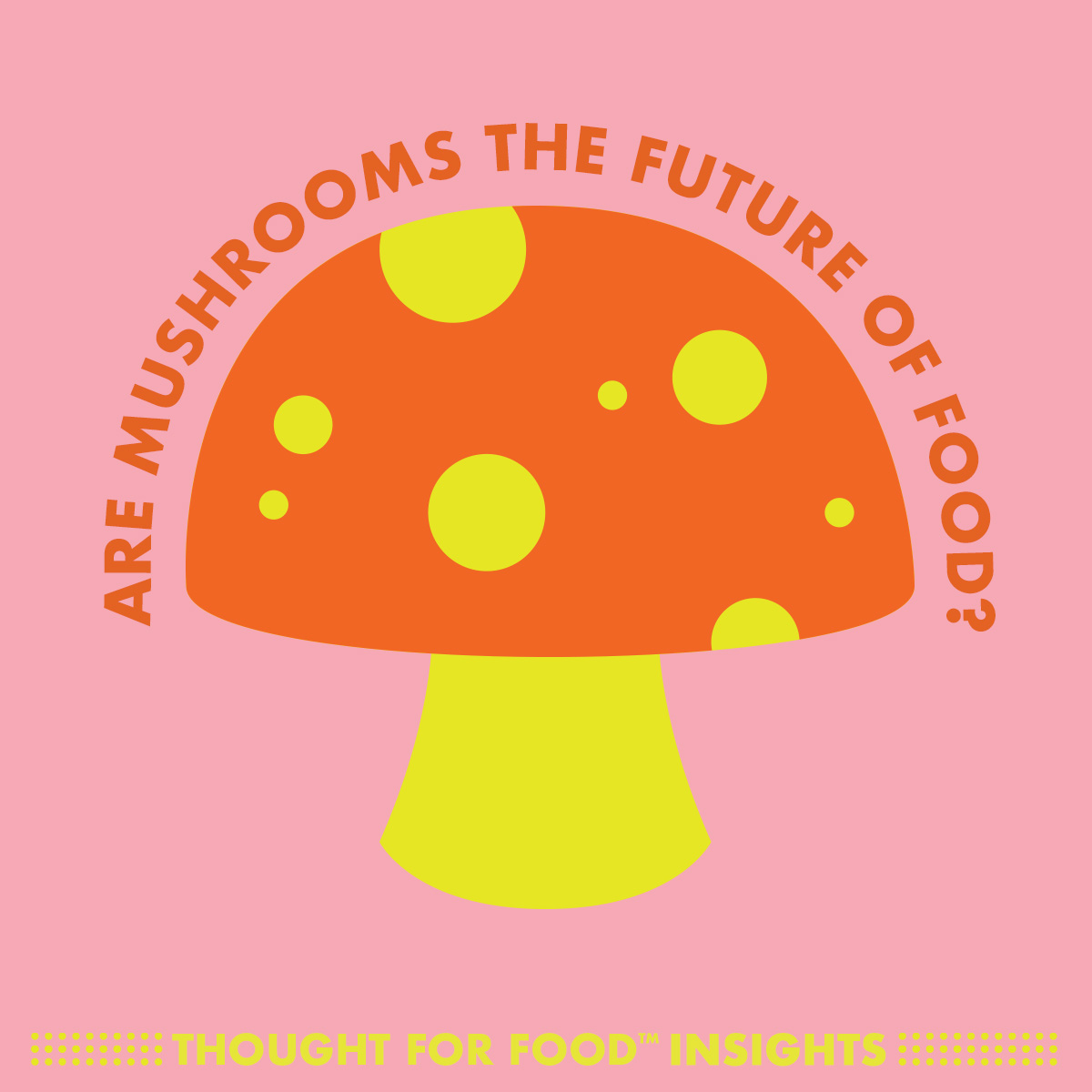 Are mushrooms the future of food?