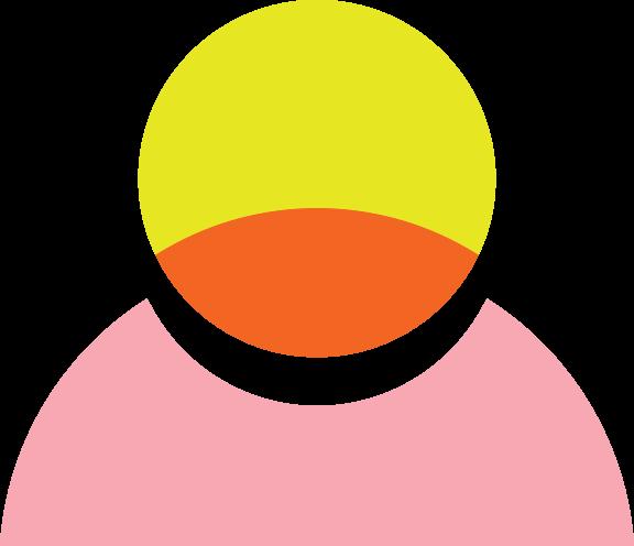 illustrated person icon